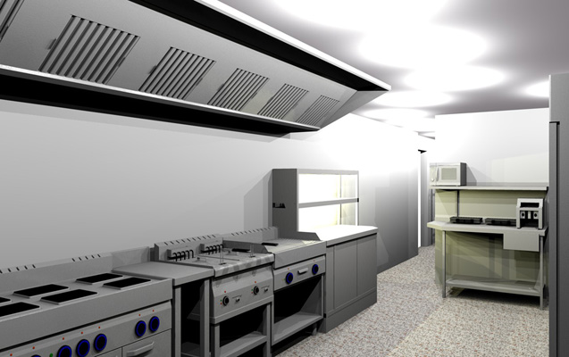Design and Installation of Catering Kitchens